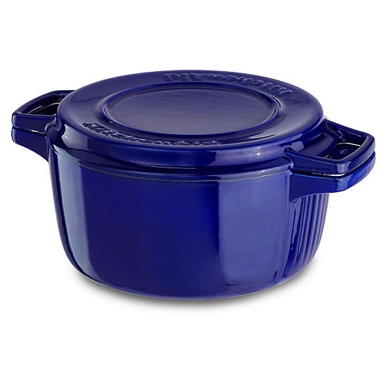 Professional Cast Iron 4-Quart Casserole