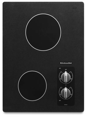 Beautiful 15u0026quot; Electric Cooktop With 2 Radiant Elements