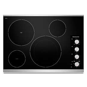 "30"" Electric Cooktop with 4 Radiant Elements"