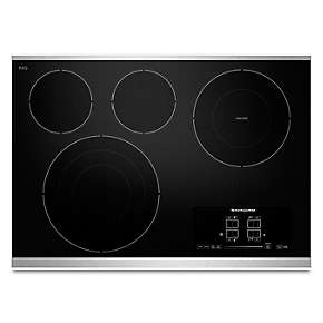 "30"" Electric Cooktop with 4 Radiant Elements and Touch-Activated Controls"