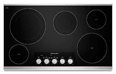 Kitchenaid Cook Tops electric cooktops - even-heat™ stove tops | kitchenaid