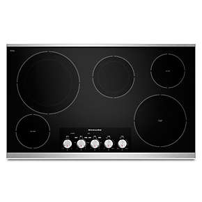 "36"" Electric Cooktop with 5 Radiant Elements"