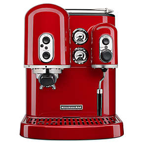 coffee products kitchenaid pro line 174 series espresso maker dual independent boilers