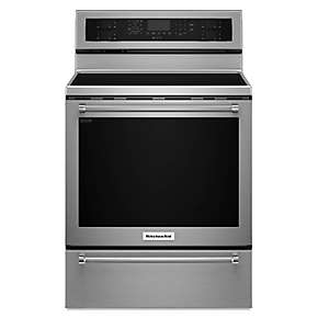 30-Inch 5 Element Electric Convection Range with Warming Drawer
