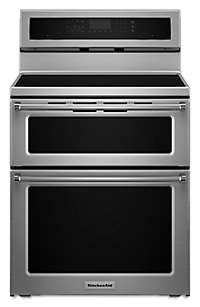 30-Inch 4-Element Induction Double Oven Convection Range