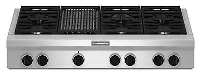 Kitchenaid Cook Tops gas cooktops - range tops for high-powered cooking | kitchenaid