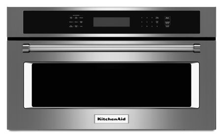 27 Built In Microwave Oven With Convection Cooking Kmbp107ess Kitchenaid