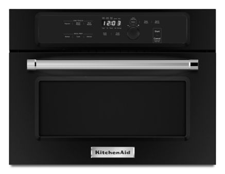 24 Built In Microwave Oven With 1000 Watt Cooking Kmbs104ebl Kitchenaid