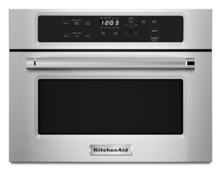 24 Built In Microwave Oven With 1000 Watt Cooking Kmbs104ess Kitchenaid