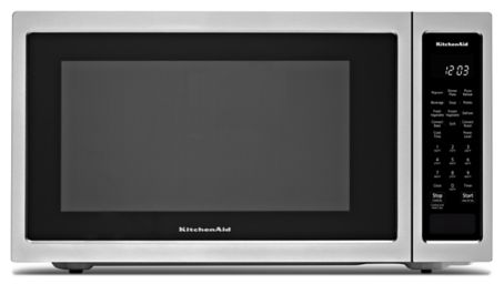 21 3 4 Countertop Convection Microwave Oven 1000 Watt Kmcc5015gss Kitchenaid