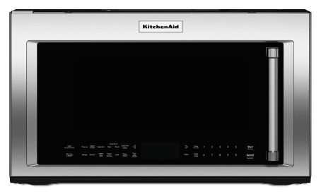 1000 Watt Convection Microwave Hood Combination Kmhc319ess Kitchenaid