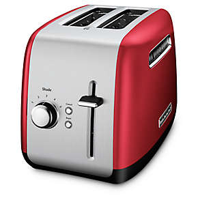 2-Slice Toaster with manual lift lever