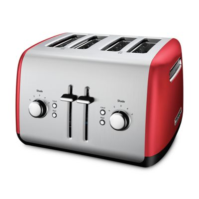 4-Slice Toaster with Manual High-Lift Lever (KMT4115ER) | kitchenaid® | {Toaster 50}