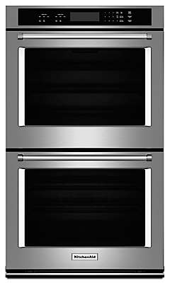 Double Wall Ovens - Get More Cooking Power | KitchenAid