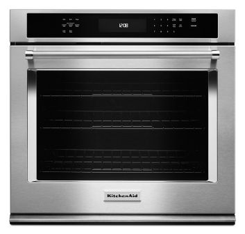 single wall oven even heat true convection 30 single wall oven even heat 8482 true convection kose500ess kitchenaidacircreg