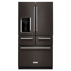 "25.8 Cu. Ft. 36"" Multi-Door Freestanding Refrigerator with Platinum Interior Design"