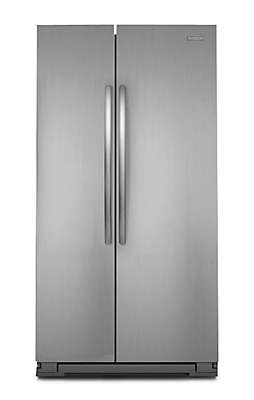 Kitchenaid Refrigerator Side By Side kitchenaid cabinet depth sideside refrigerator | bar cabinet