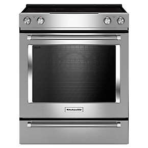 30-Inch 5-Element Electric Convection Slide-In Range with Baking Drawer