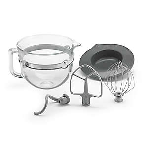 F-Series 6-Quart Glass Bowl Accessory Bundle