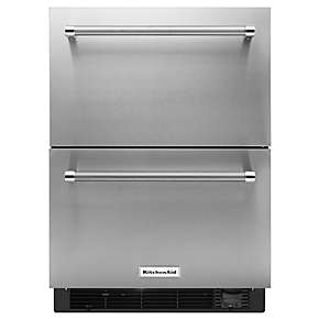 Double Refrigerator Amp Freezer Drawers Kitchenaid