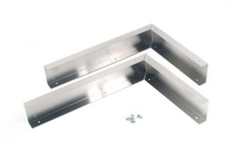 Microwave Hood Panel Kit Stainless Steel