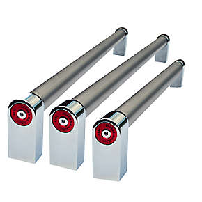 Medallion Handle Kit for French Door Bottom Mount Panel Ready Built-in refrigerators