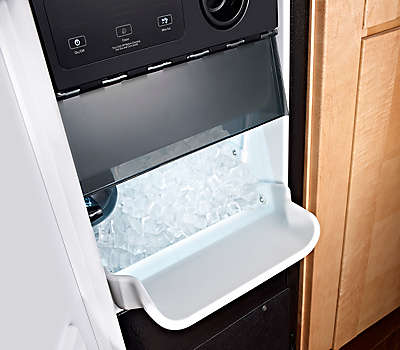 15 Quot Stainless Steel Ice Maker Undercounter Refrigerator